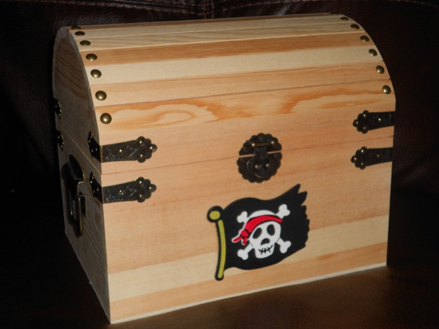 pirate chest plans free