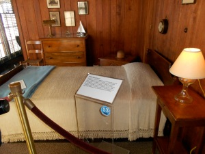 the actual room where FDR died