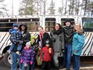 our safari van!