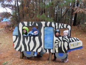 We're going on safari!
