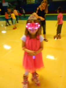 birthday princess, rocking the neon colors
