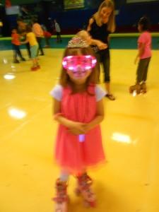 birthday princess, rocking the neon colors