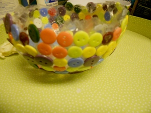 Our button bowl