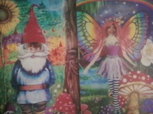 my little gnome and fairy