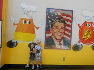 Ronald Reagan - champion of jelly beans