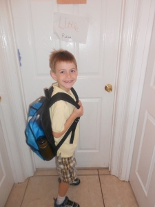 Big Brother - ready for 3rd grade